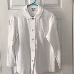 Talbots buttoned cardigan top Small
